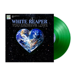 YOU DESERVE LOVE VINYL (GREEN)